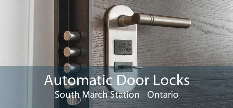 Automatic Door Locks South March Station - Ontario
