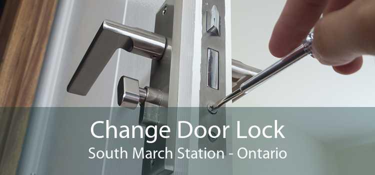 Change Door Lock South March Station - Ontario