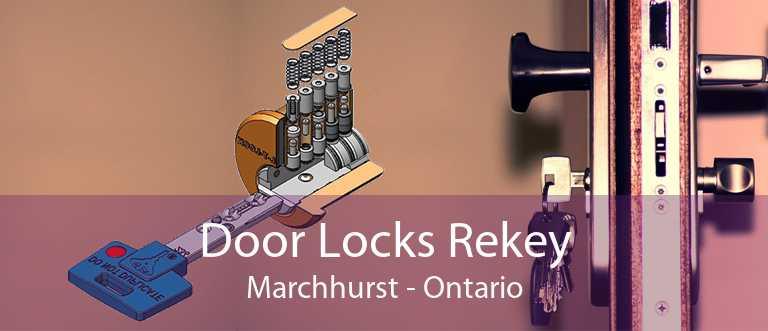 Door Locks Rekey Marchhurst - Ontario