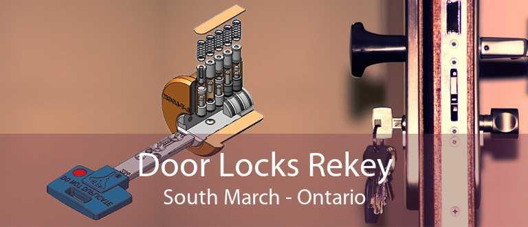 Door Locks Rekey South March - Ontario