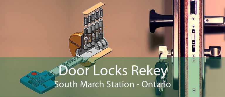 Door Locks Rekey South March Station - Ontario