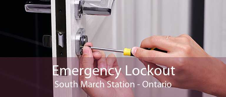 Emergency Lockout South March Station - Ontario