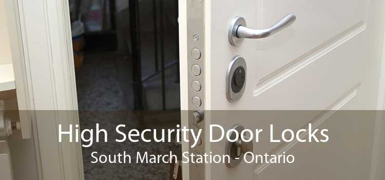 High Security Door Locks South March Station - Ontario