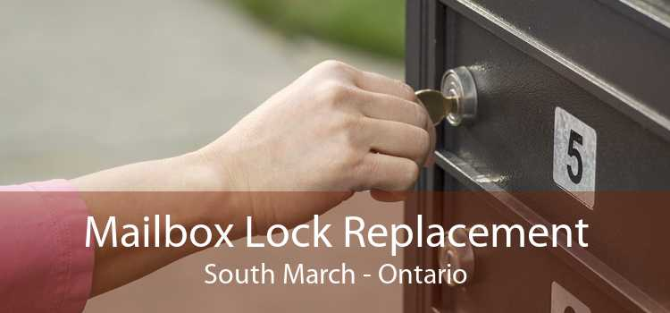 Mailbox Lock Replacement South March - Ontario