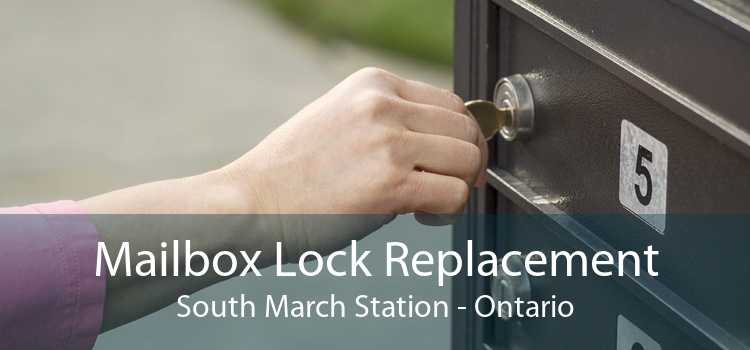Mailbox Lock Replacement South March Station - Ontario
