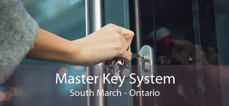 Master Key System South March - Ontario