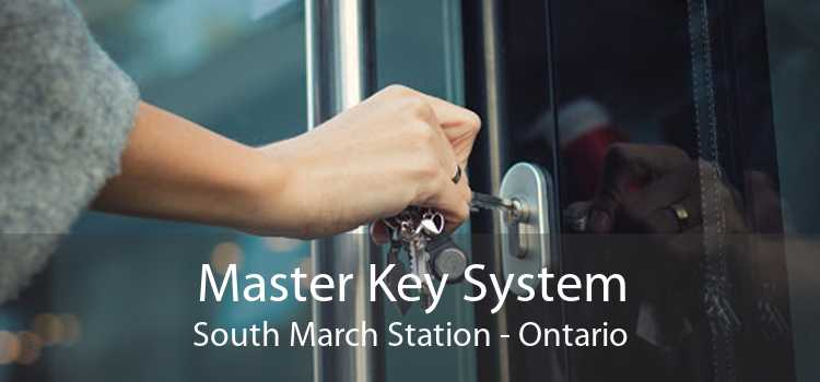Master Key System South March Station - Ontario