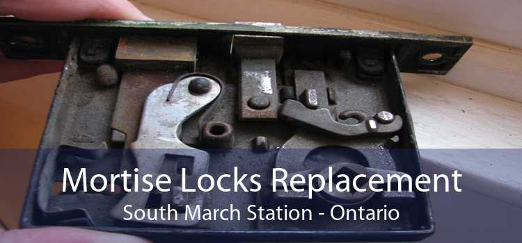 Mortise Locks Replacement South March Station - Ontario