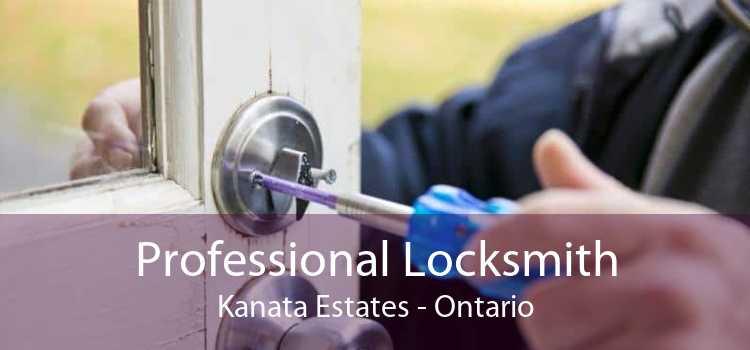 Professional Locksmith Kanata Estates - Ontario