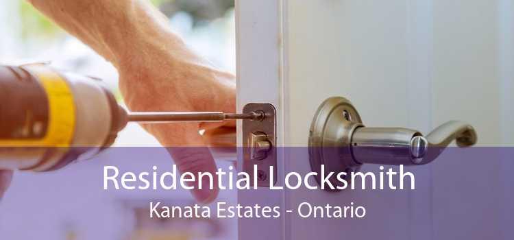Residential Locksmith Kanata Estates - Ontario